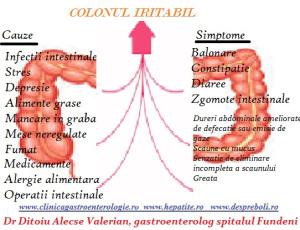 SImptomele colonului iritabil